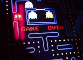 Pacman arcade game