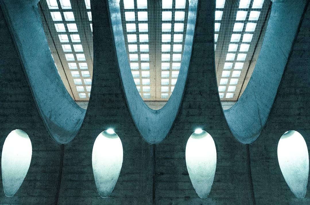 Shaft of light in Zurich's Statelhofen railway station, Switzerland.
