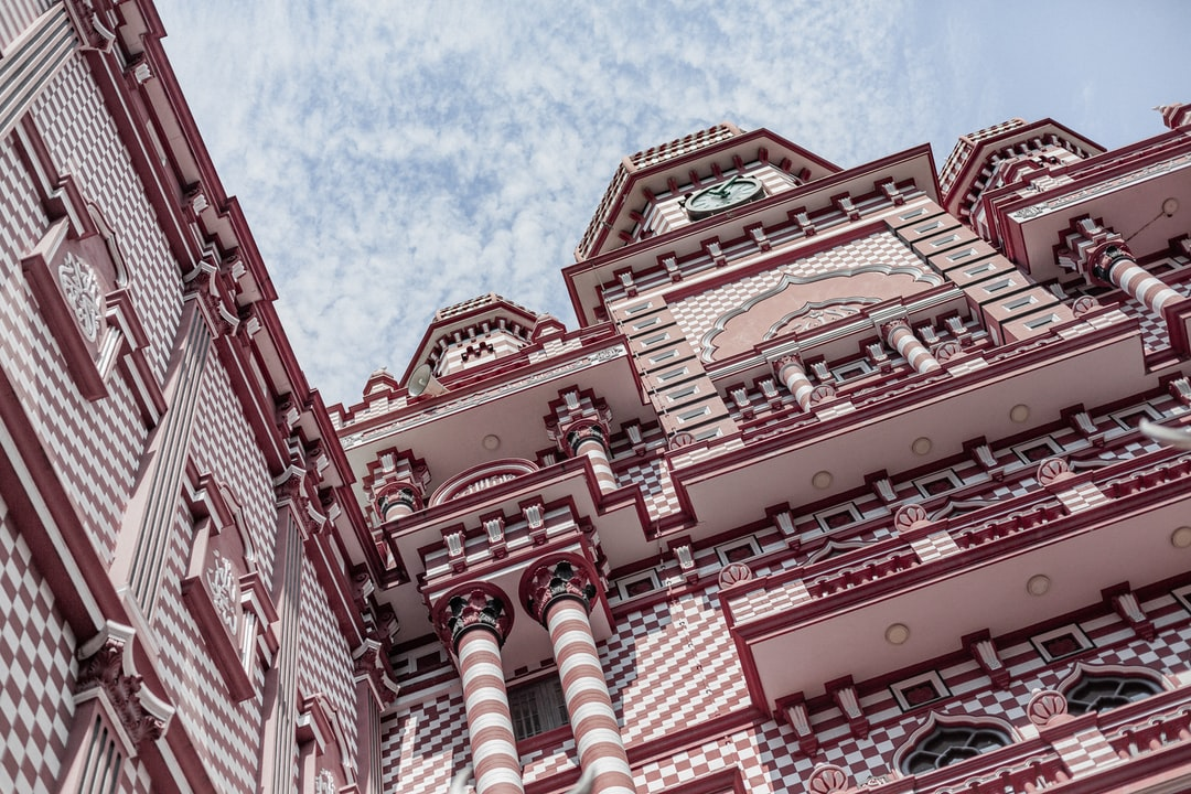 Jami Ul-Alfar Mosque In Colombo, Sri Lanka