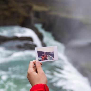 us & the beauty of Gulfoss | Iceland