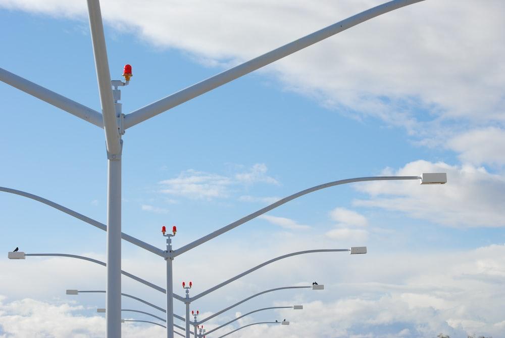 traffic light under blue sky during daytime