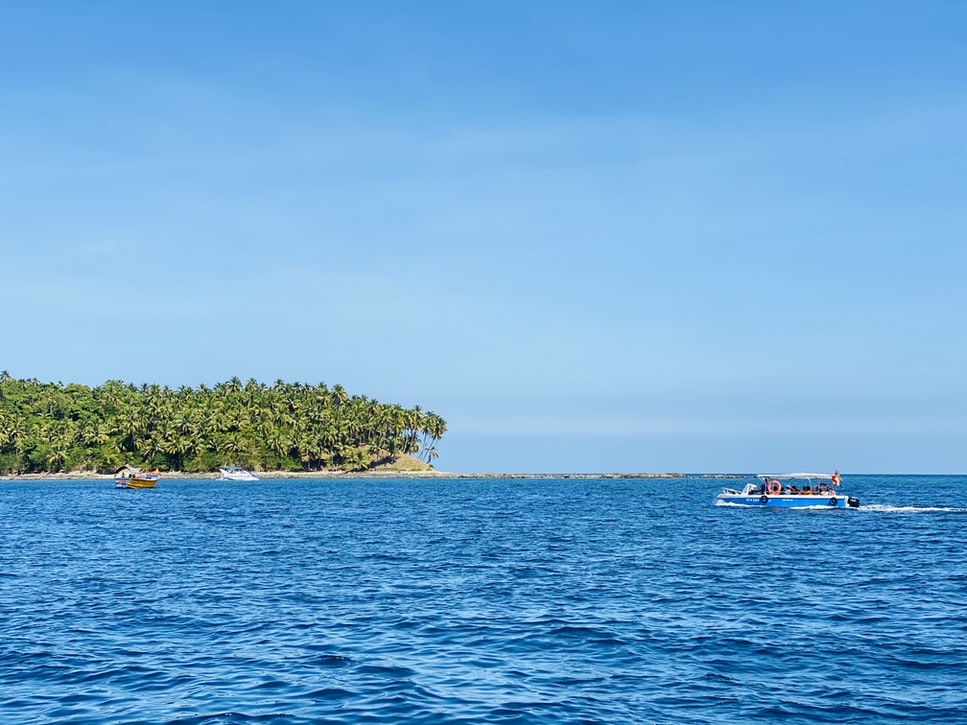 A click of the Andaman island