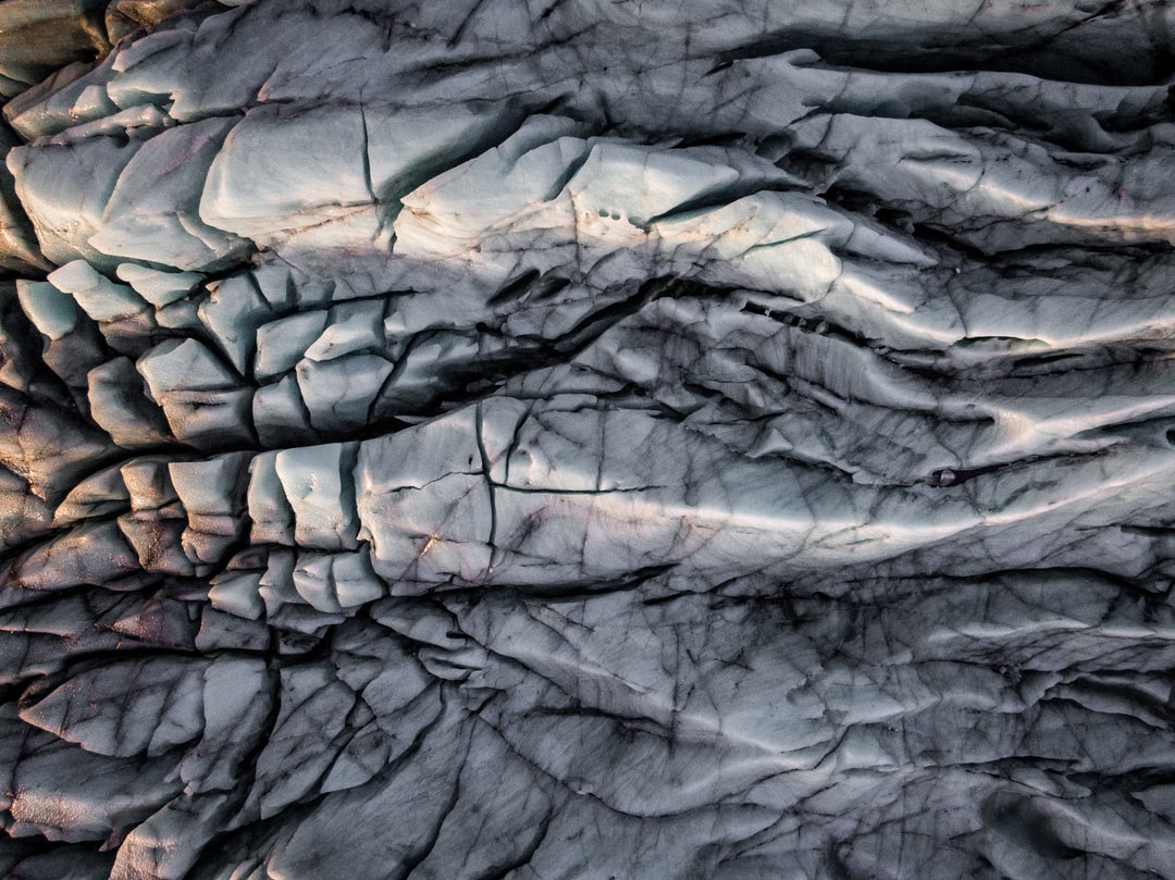 Glacier Pattern - unsplash