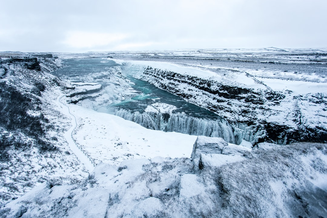 Gullfoss Waterfall - unsplash