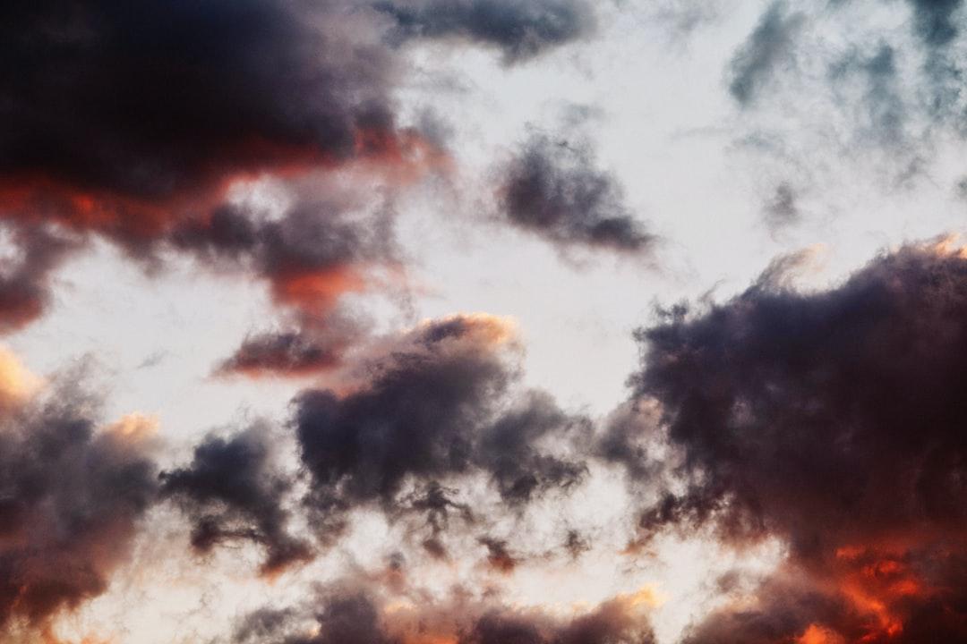 Rich and Warm Sunset Sky Background - unsplash