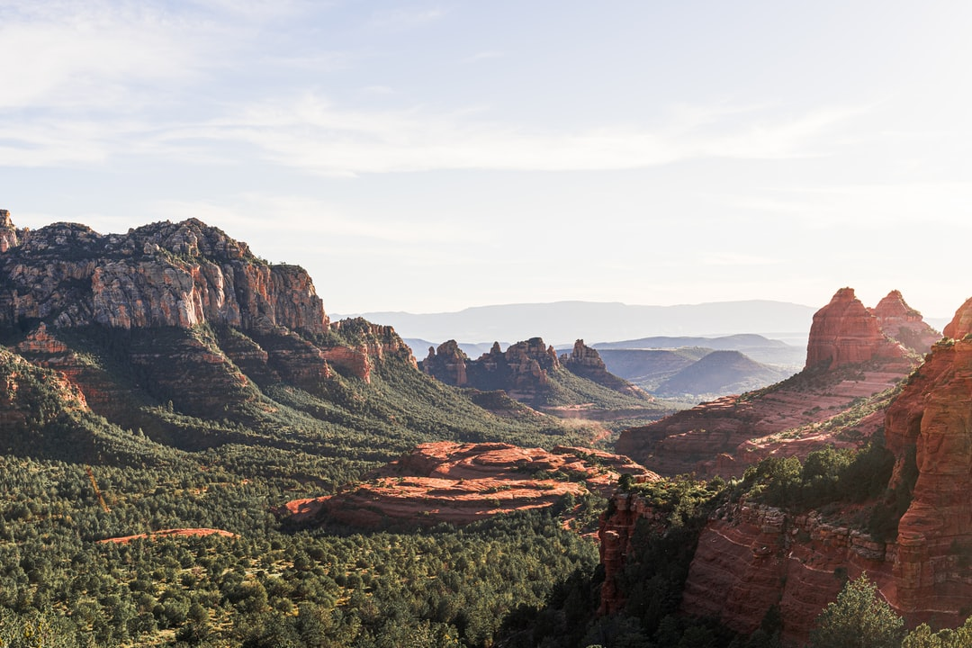 A View of Sedona, Arizona From Schnebly Hill Road. - unsplash
