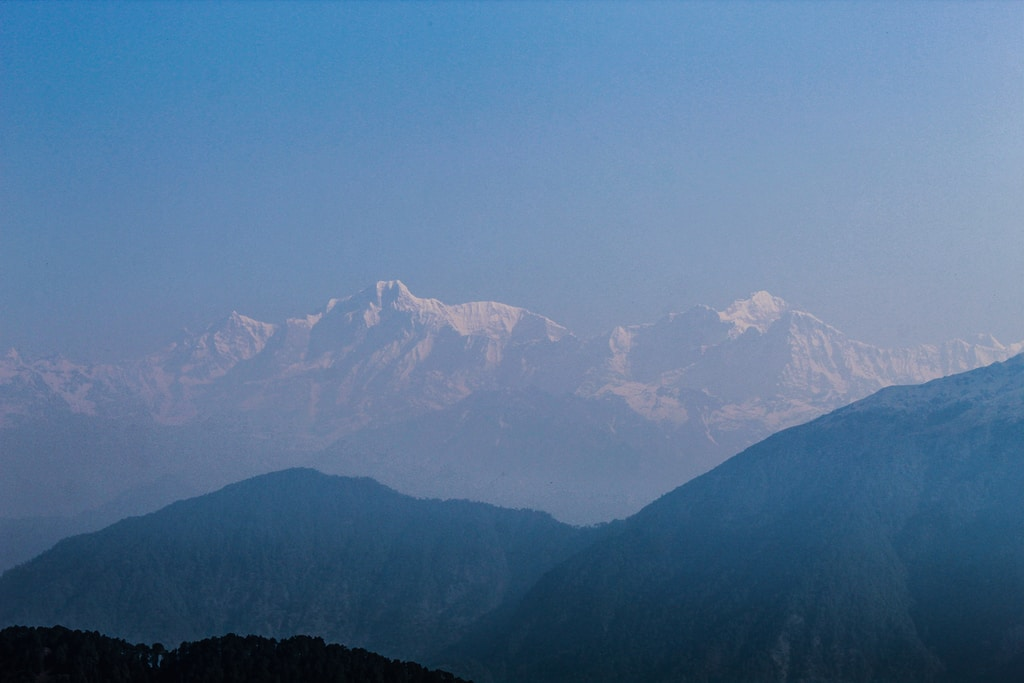 Shivalik range of Himalaya