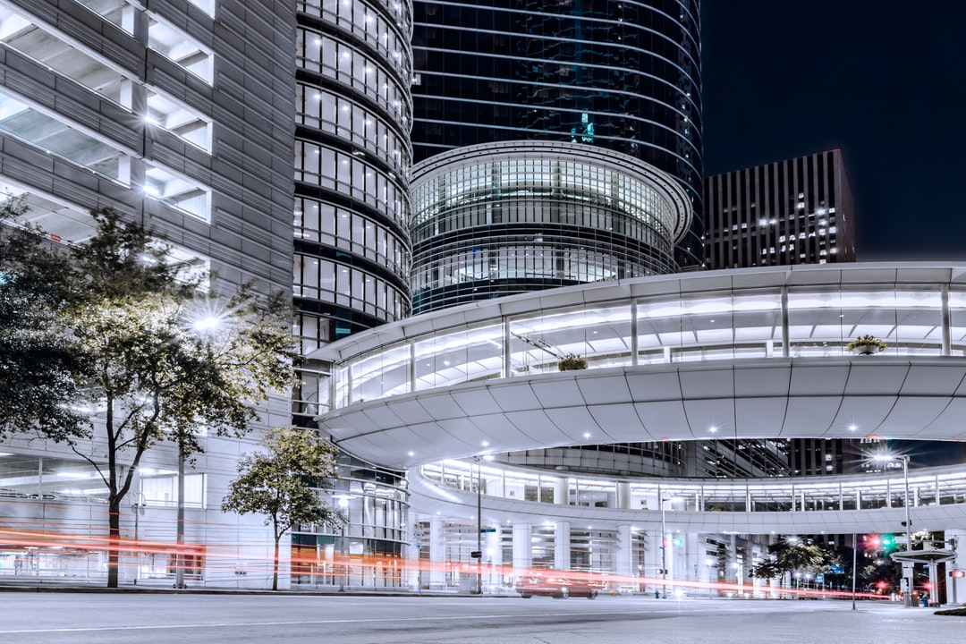 Urban Architecture and Buildings In Downtown, Houston, Tx, 77002, At Night. - unsplash
