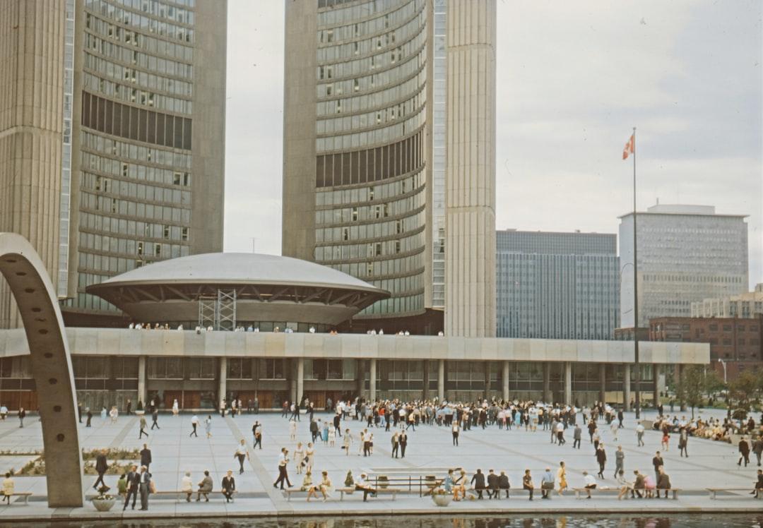 Toronto Town Hall, August 1966 - unsplash