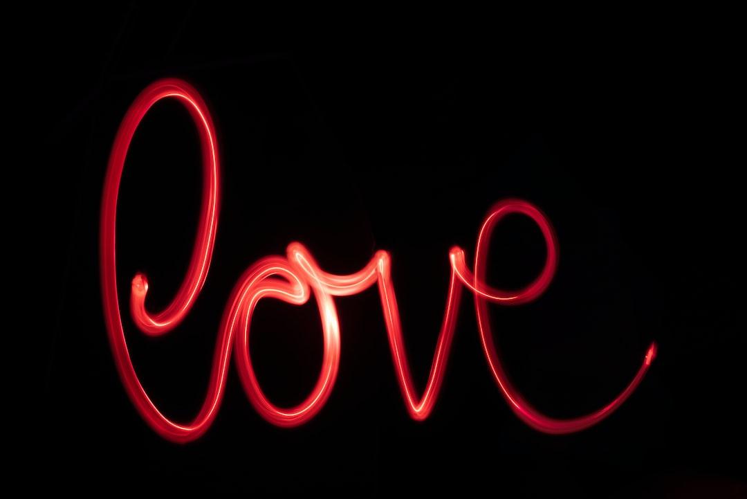 Neon Love - unsplash