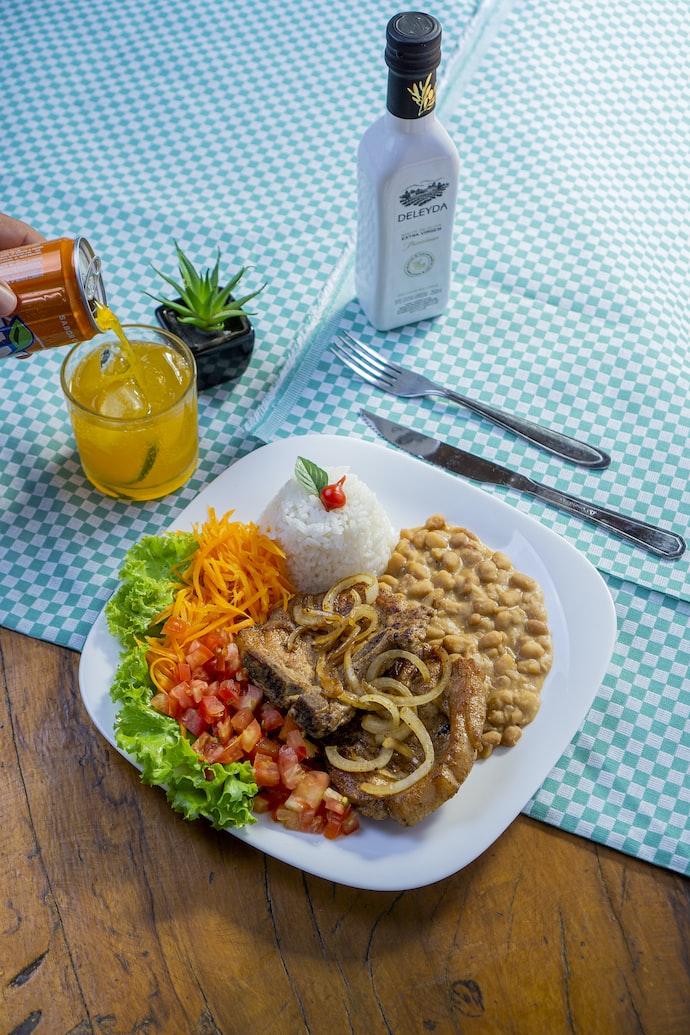 Plat du jour déjeuner