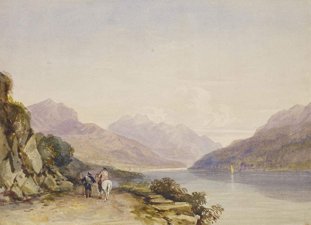 The Path By the Lake/ Ben Voirlich, 1836 by David Cox Junior - unsplash