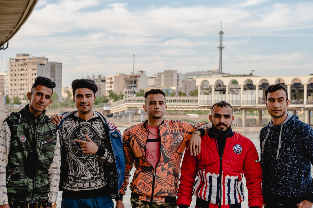 A Gang of Young Arab Men I Found Under A Bridge - unsplash