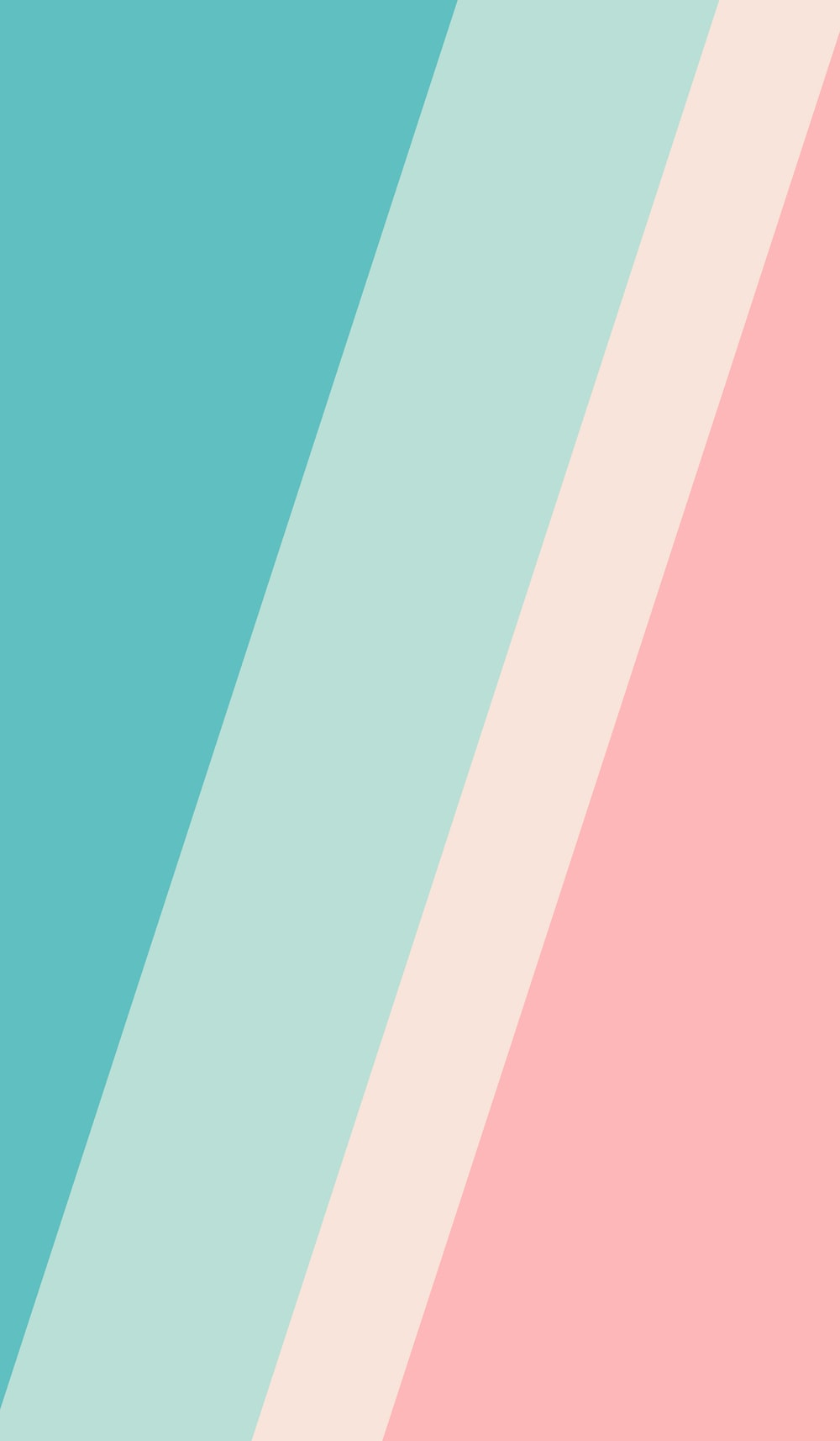 pink and teal striped textile