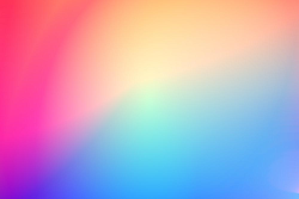 blue and pink light illustration