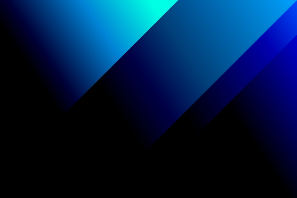 blue and black digital wallpaper