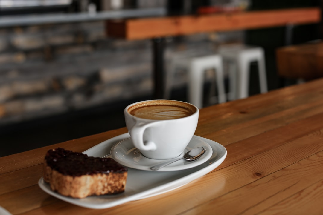 Coffee Cappuccino and Jam Toast At Coffee Shop - unsplash