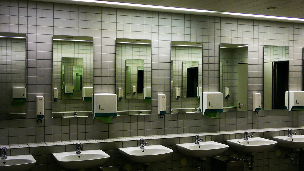 Cell phones are actually dirtier and contain more bacteria than public restroom toilet handles.
