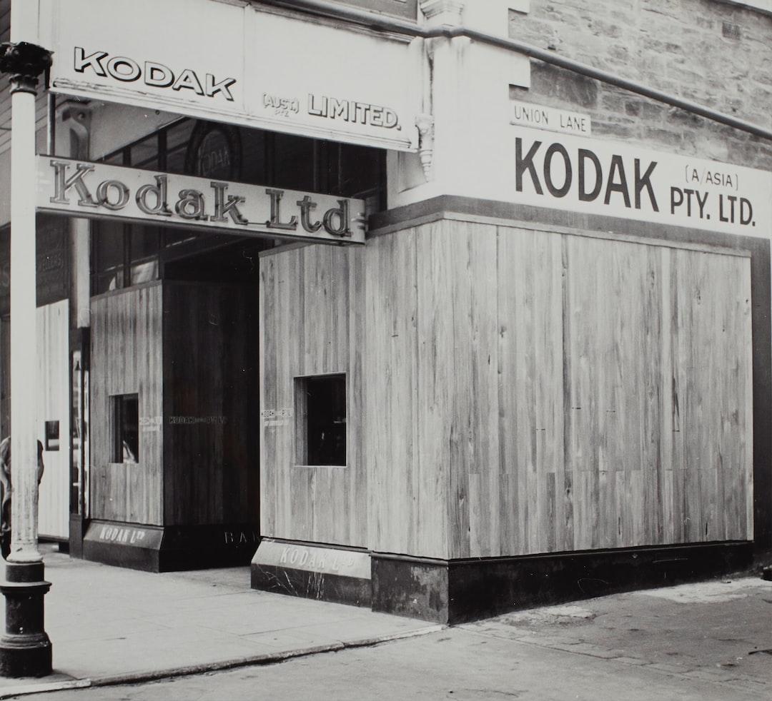 Kodak Australasia Pty Ltd, Shopfront Window Hoarding, Adelaide, South Australia, Circa 1940s - unsplash