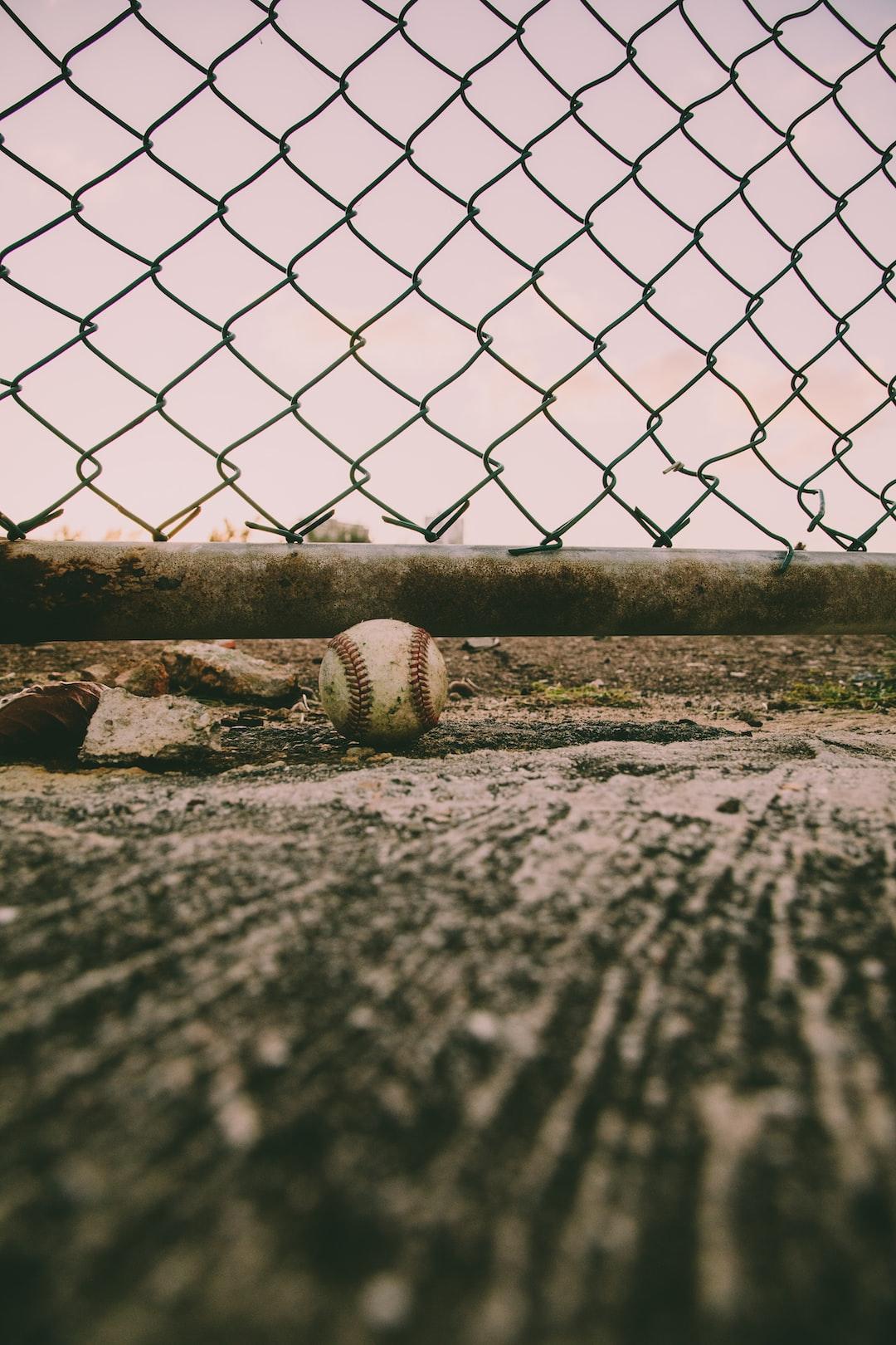 Old baseball.