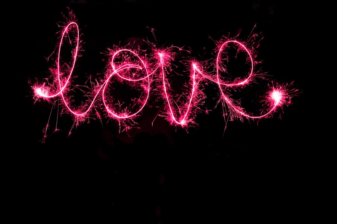 Love With Sparklers - unsplash