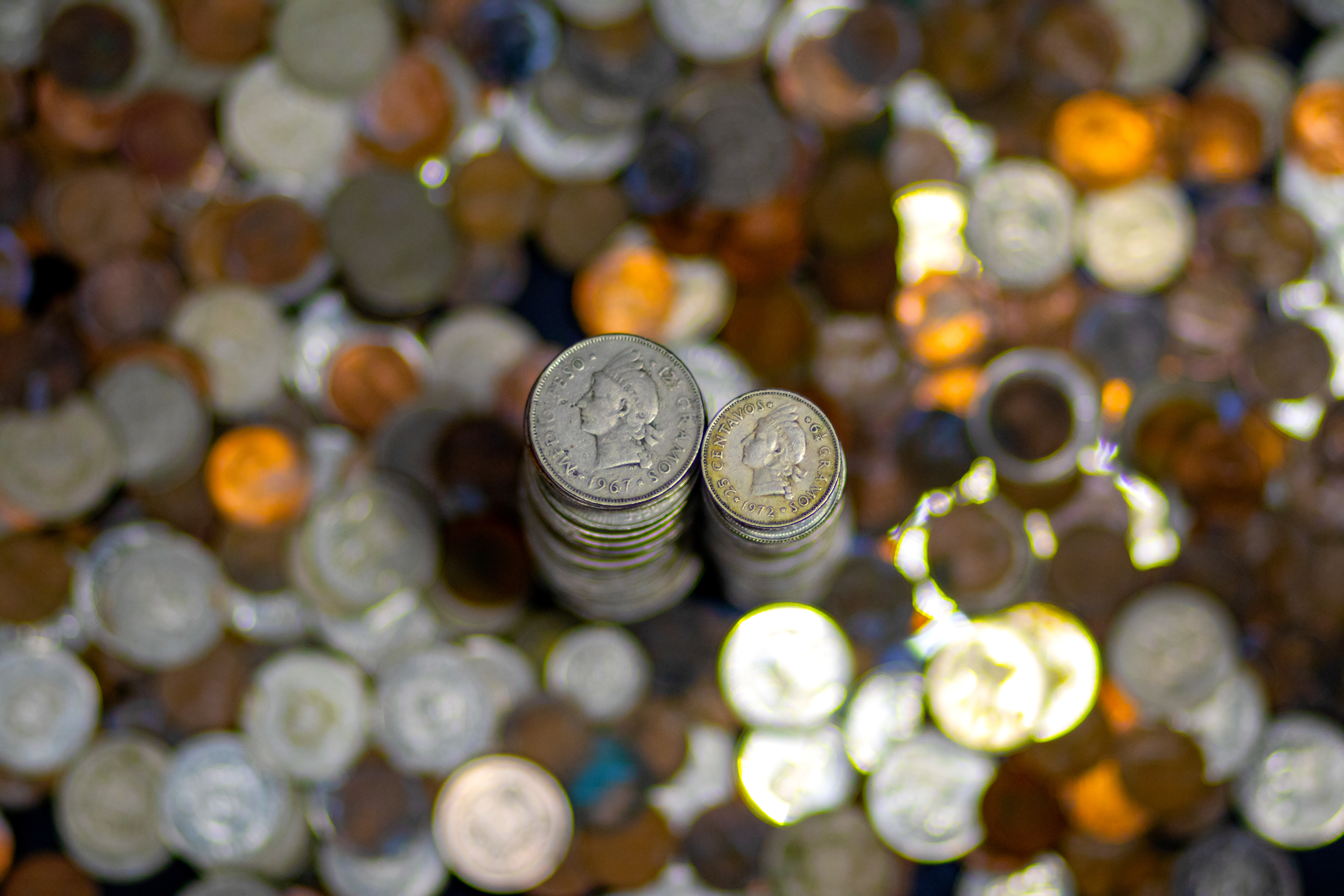 I always knew my mother was wrong. Over all these years she kept saying that I was wasting time (and money) storing all those coins -Dominican \