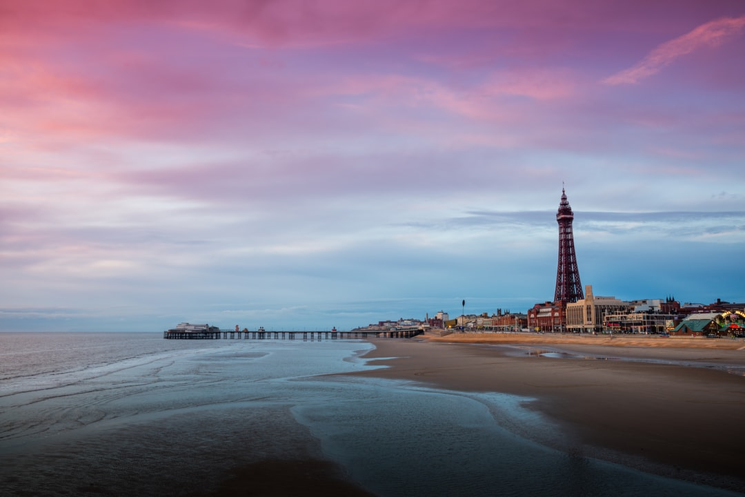 Here Is A Photograph Taken Overlooking Blackpool Tower and Blackpool North Pier.  Located In Blackpool, Lancashire, England, Uk. ( Website : Www.michaeldbeckwith.com ) ( Email : Michael@michaeldbeckwith.com )  - unsplash