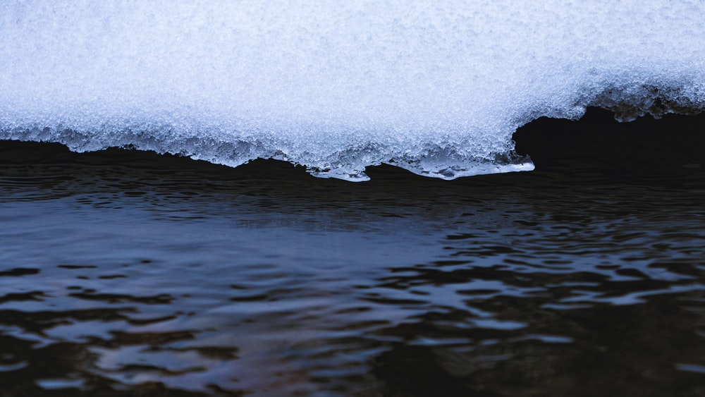 water waves on the shore
