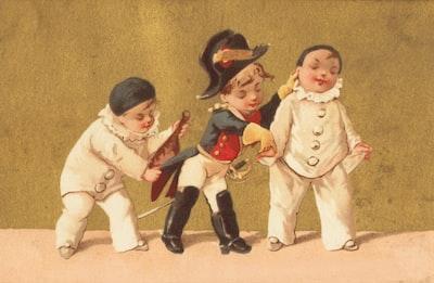 2 - Moi! Pas du tout! Date: ca. 1870–1900 https://ark.digitalcommonwealth.org/ark:/50959/3f462g862 Please visit Digital Commonwealth to view more images: https://www.digitalcommonwealth.org.