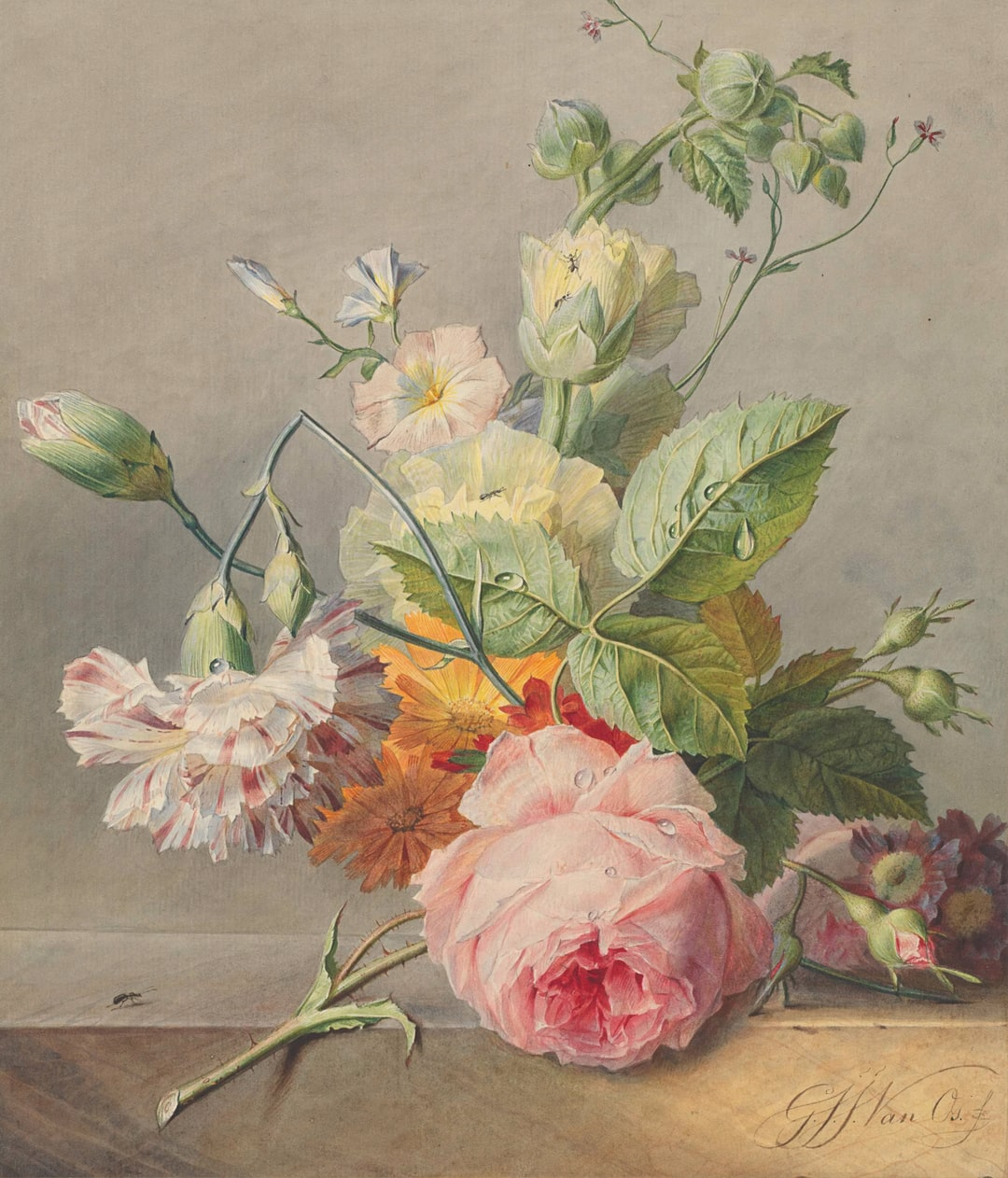 Floral Still Life.