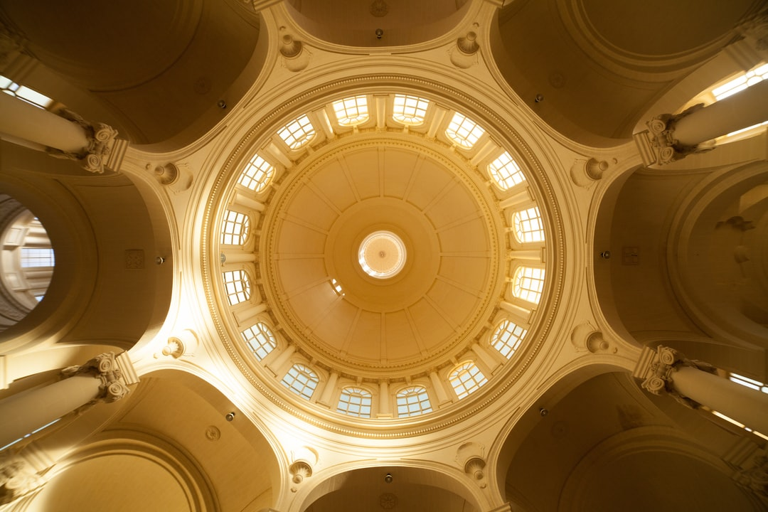 Low Angle Photography of Dome Ceiling - unsplash