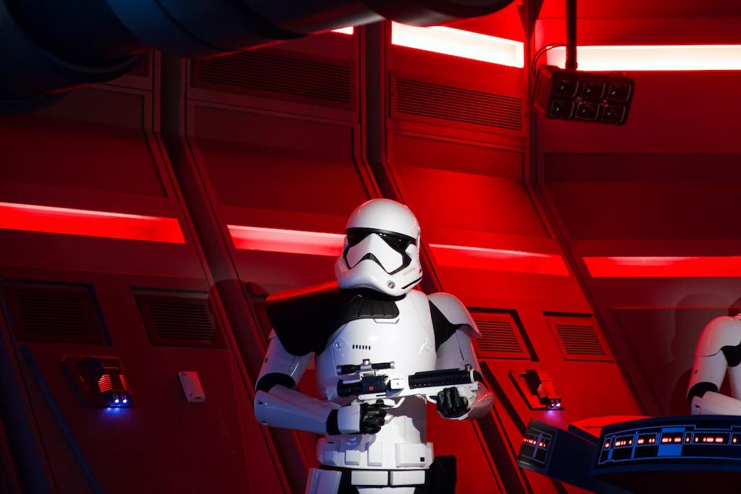 Stormtrooper from a recent trip to Walt Disney World.