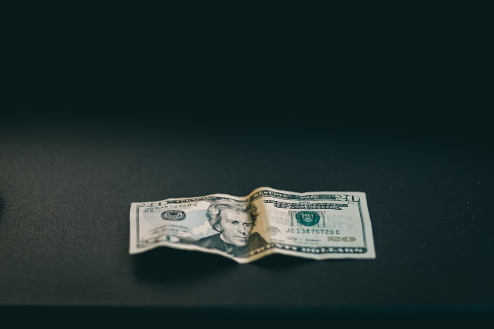 20 us dollar bill
