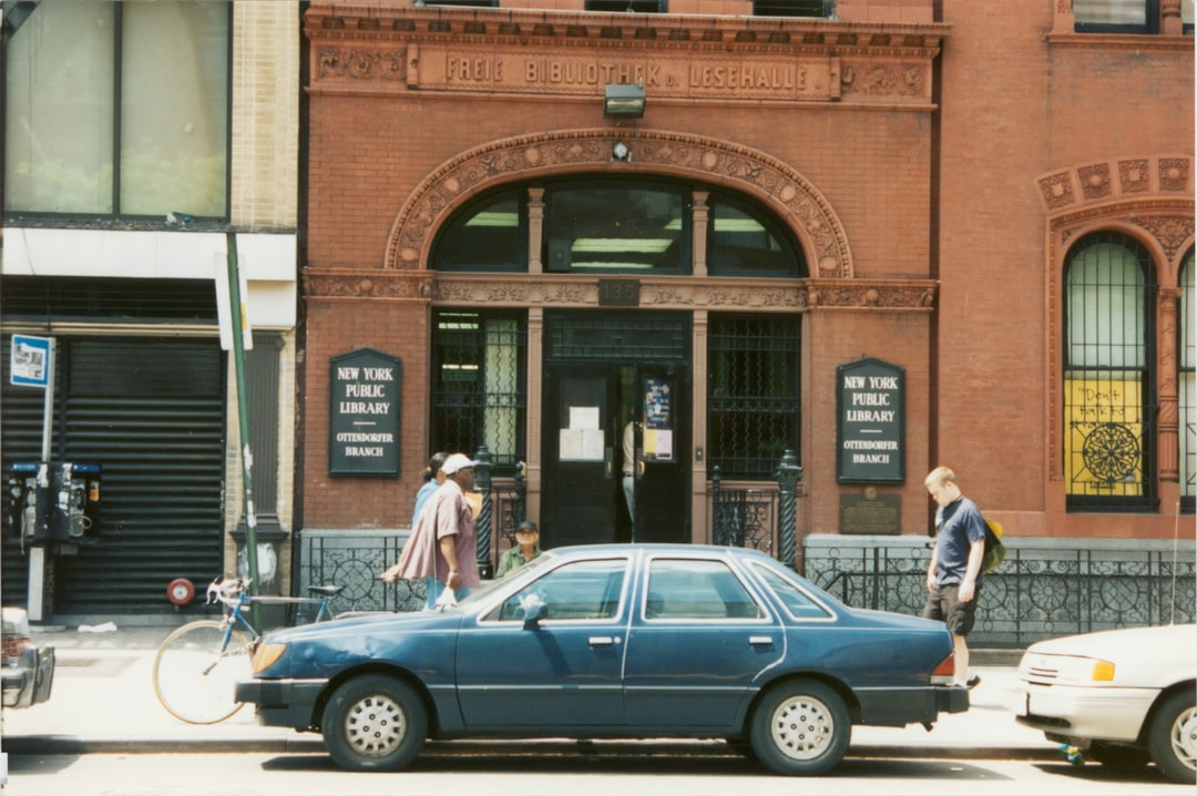 Ottendorfer, Exterior, entrance, 1995