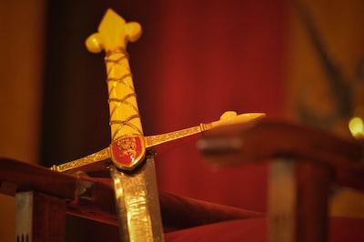 Espada, Leão Inglaterra