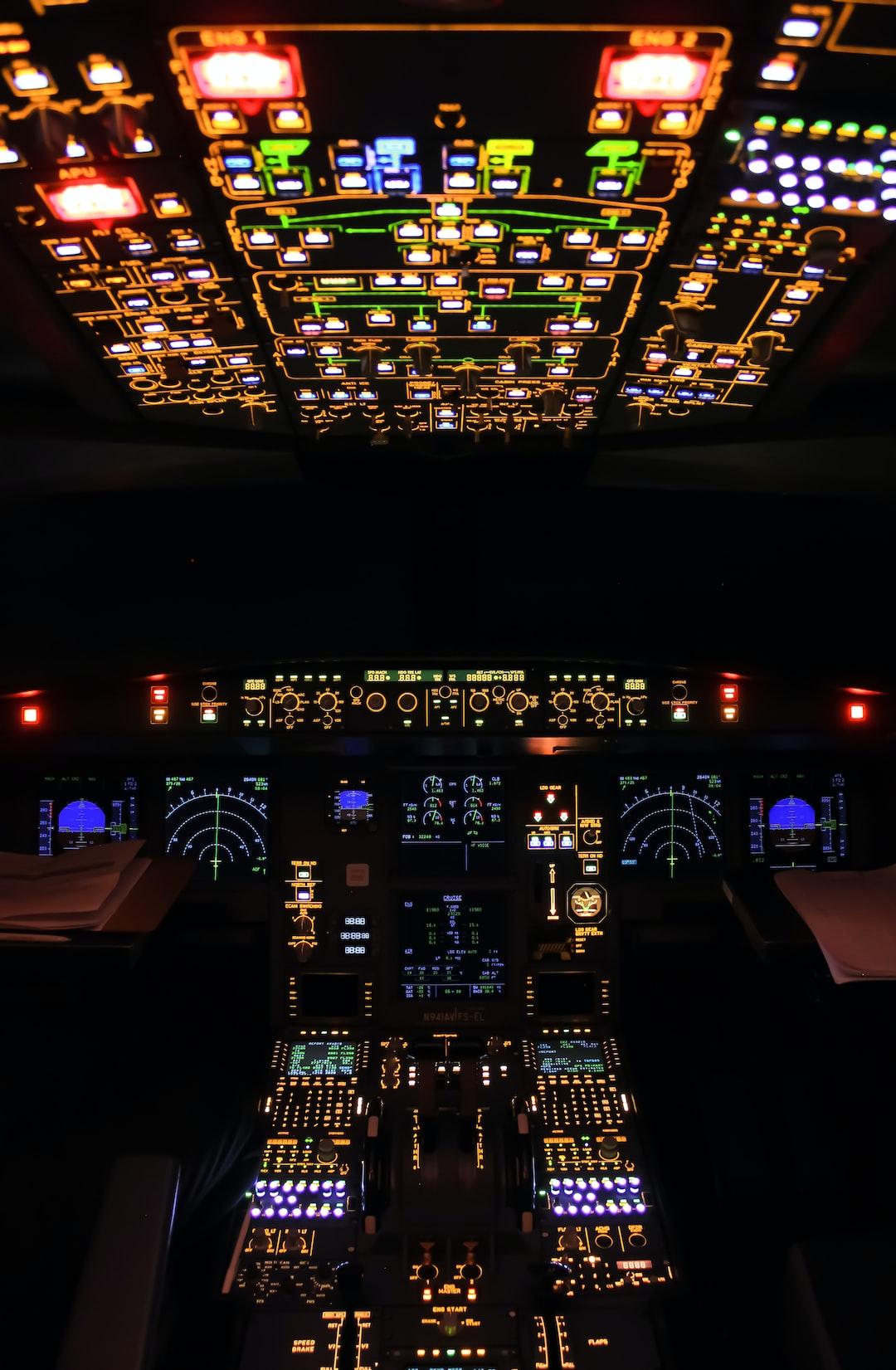 Cockpit annunciator lights test