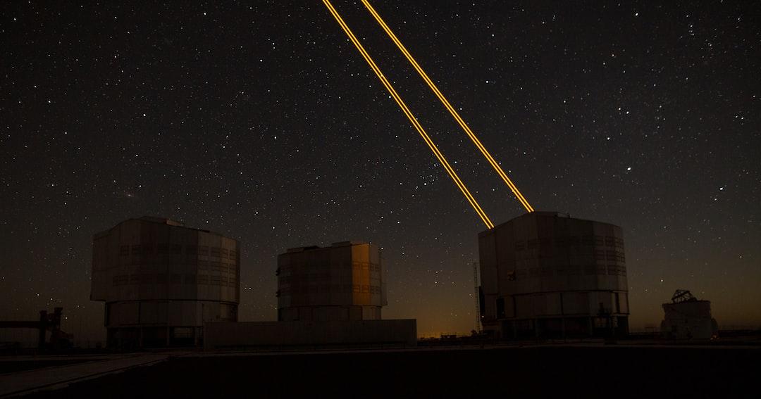 Guided Star Laser Very Large Telescope Eso Cerro Paranal Chile Stardust - unsplash