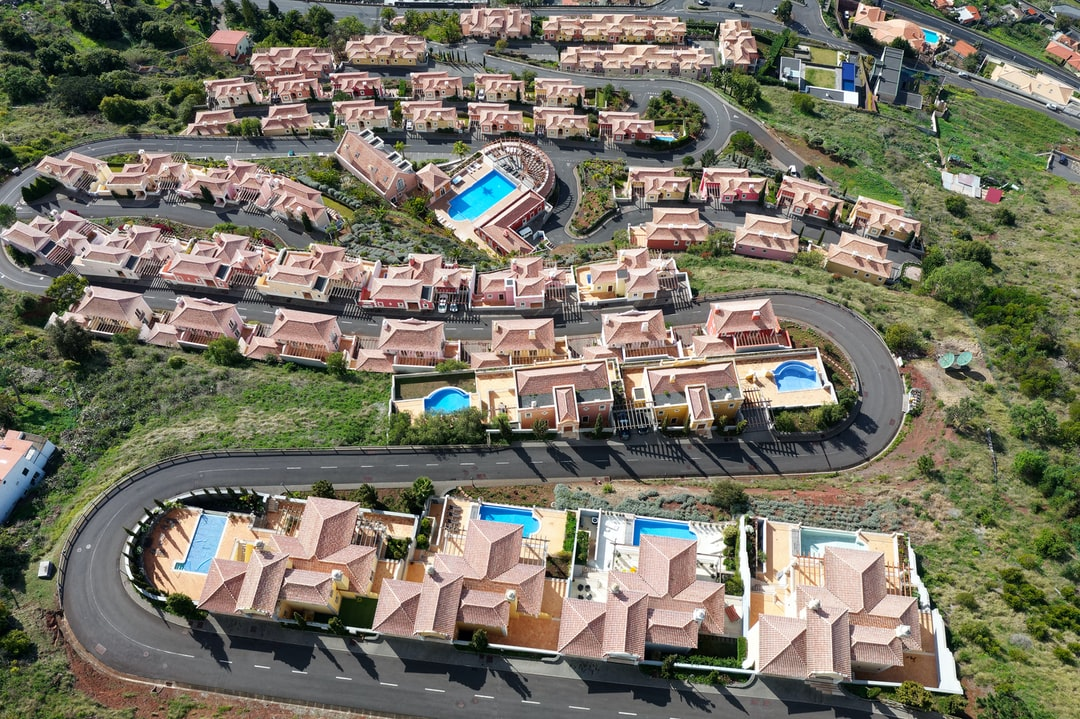 Luxury housing development close to the city of Funchal.