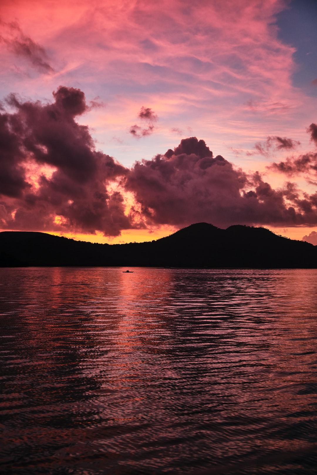 Sunset on Coron
