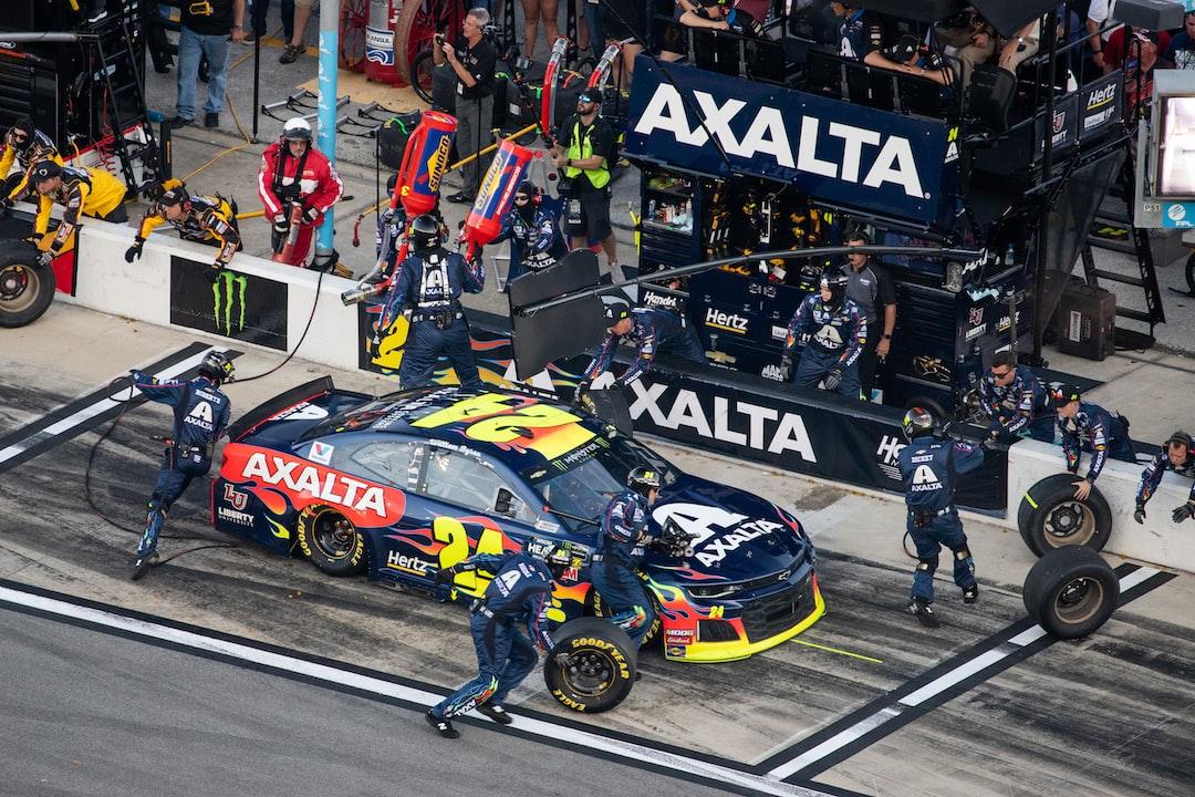 Pitstop during the 2019 Daytona 500