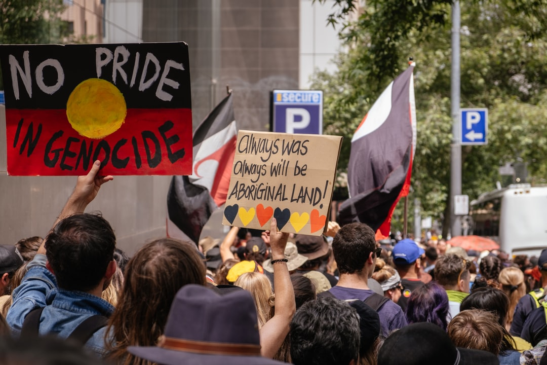 Invasion Day rally