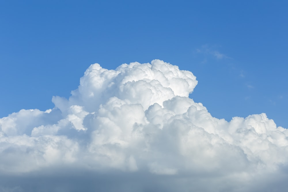 white clouds under blue sky during daytime
