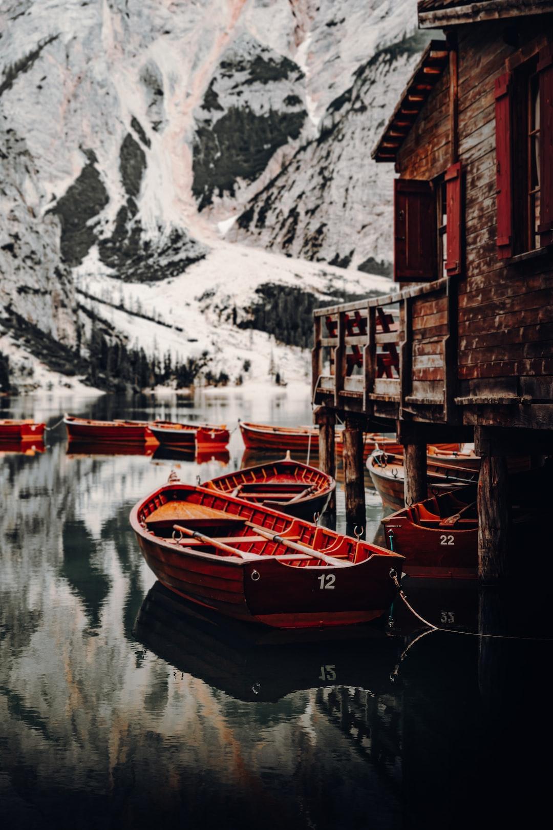 Boats of Lago die Braies #3