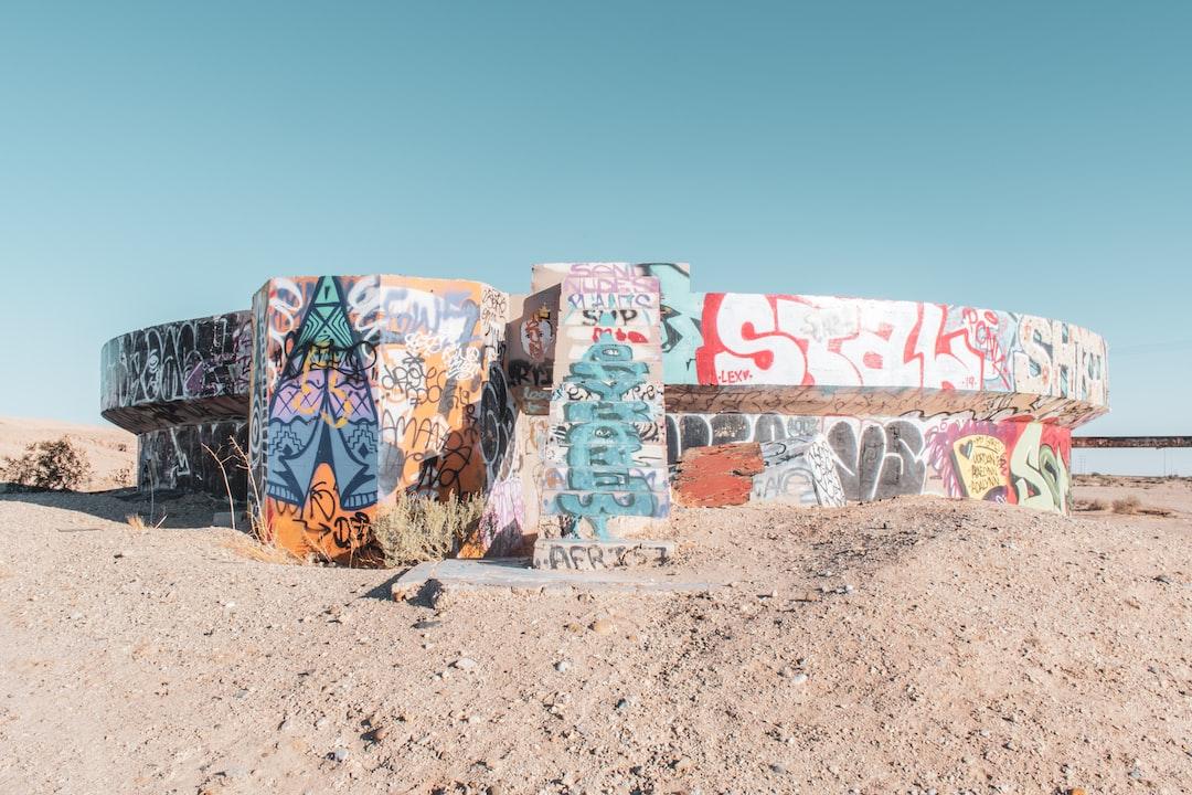 Graffiti On An Old Storage Tank In Slab City. - unsplash