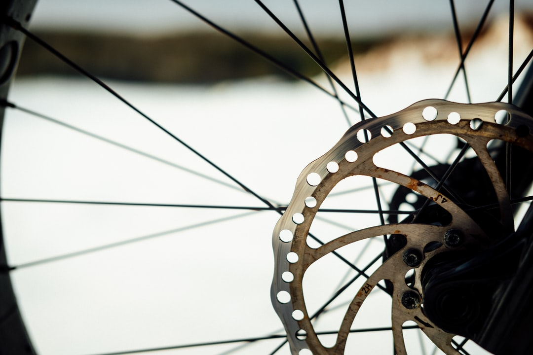 A Little Rust On My Fat Bike Rotors, the Cold Is Tough On the Old Gals. - unsplash