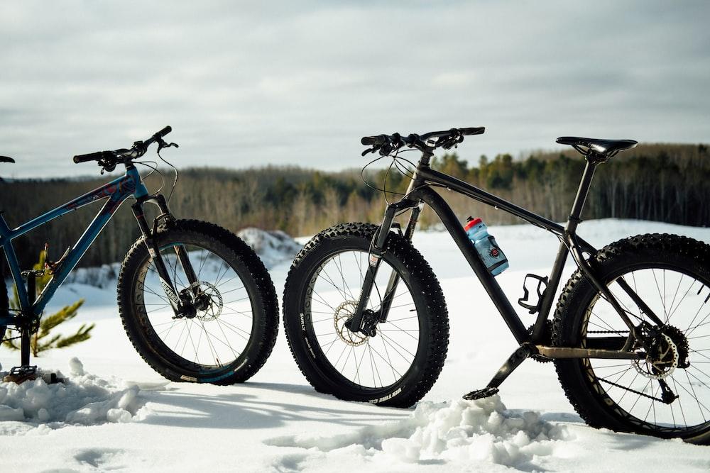 fat tire bikes in snow