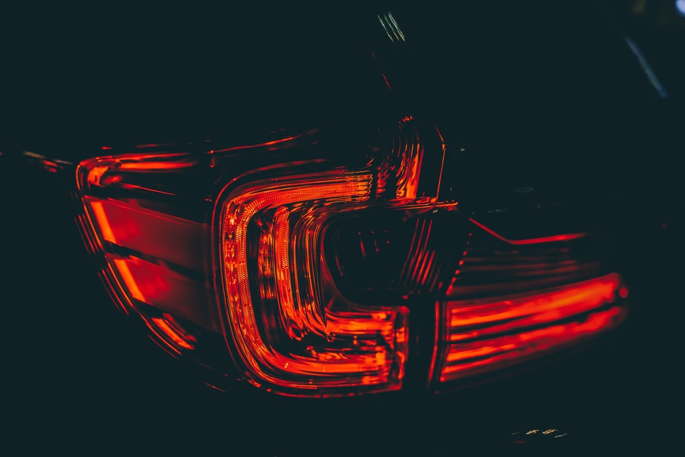 red and yellow light digital wallpaper