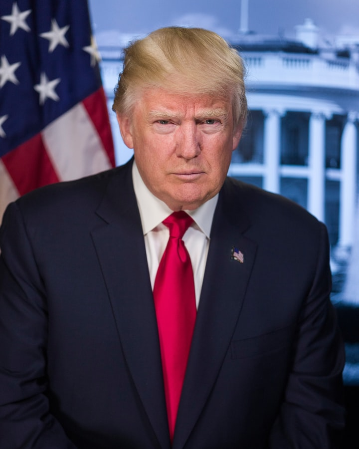 Trump Facebook Banned.