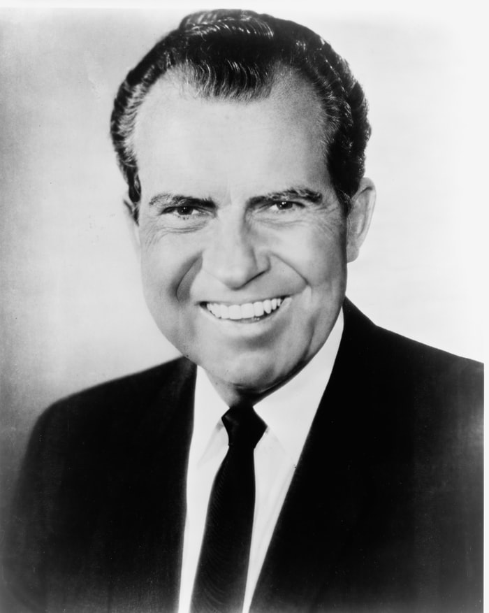 Richard Nixon was the 1st US president to visit China in February, 1972.