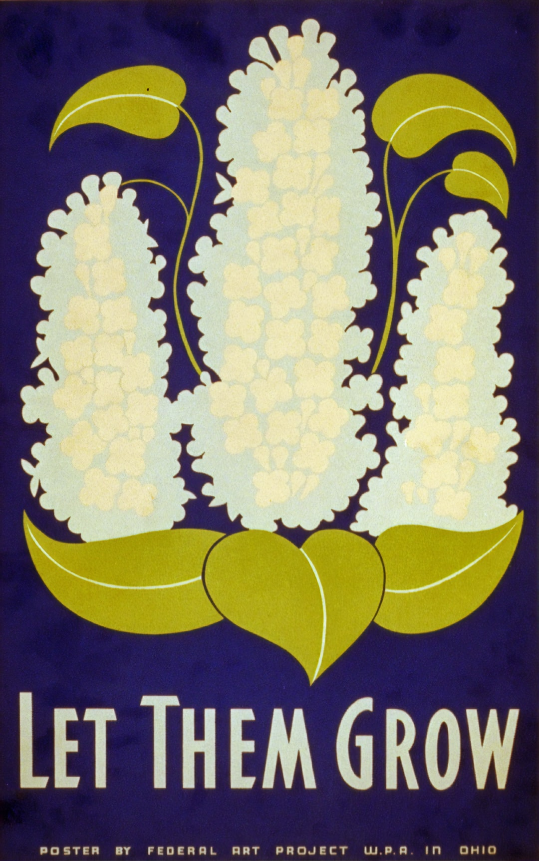 Let them grow. Poster by artist Stanley Thomas Clough for the Ohio: Federal Arts Project, W.P.A., 1938. From the Work Projects Administration Poster Collection. Library of Congress Prints & Photographs Division.  https://www.loc.gov/item/98517179/
